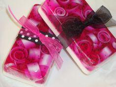 Jabón de glicerina Blackraspberry-vainilla por SoapinItUpSoaps