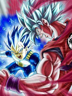 Goku ssjbk and vegeta ssjbe Goku E Vegeta, Goku Vs, Dragon Ball Gt, Super Saiyan Blue Kaioken, Gogeta And Vegito, Animes Wallpapers, Dbz Memes, Geek, Hero Girl