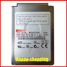 """NEW 1.8"""" CF/PATA MK8007GAH 80GB 4200RPM Hard Drive replace MK6006GAH MK4006GAH MK4004GAH for laptop IPOD, Free shipping #Affiliate"""