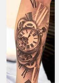 Bilderesultat for forearm lion watch tattoos