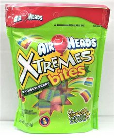 Airheads Candy, Junk Food Snacks, Rainbow Candy, Candy Brands, Chewy Candy, Sour Patch Kids, Sour Candy, Favorite Candy, Candy Buffet