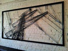 lineman metal art - Google Search