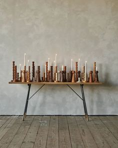 Wooden Candlestick Holders, Taper Candle Holders, Taper Candles, Candle Set, Soy Candles, Candle Stands, Yankee Candles, Arte Popular, Furniture Sale