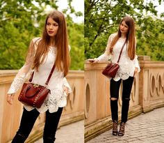 Get this look: http://lb.nu/look/7416026  More looks by ZOYA Onlymyfashionstyle.blogspot.com: http://lb.nu/zoyaa  Items in this look:  Bag, Blouse   #bohemian #chic #retro