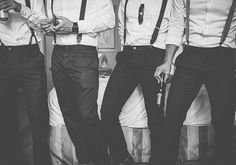 groomsmen | photo by Rock the Image | 100 Layer Cake