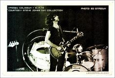 MAGE MUSIC: 1972 Led Zeppelin - Uniondale, NY at Nassau Memorial Coliseum.  Steve Jones collection,  photo: Ed Stasium