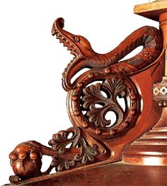 Detail of a balustrade at Palais Guell, Barcelona, Spain ~~ For more:  - ✯ http://www.pinterest.com/PinFantasy/arq-~-antoni-gaud%C3%AD/