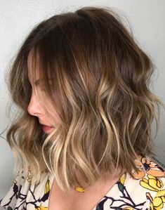 Natural-Looking Caramel Balayage