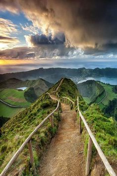Sao Miguel Azores Portugal- where my mama is from :) I need to go back.