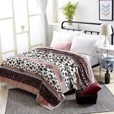 Golden Beige Doppel Luxus Plüsch Fleece Decke Warm Zuhause Sofa Bett Überwurf