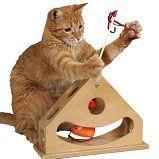 tick tock teaser cat toy