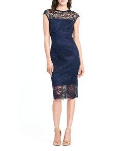 lace sheath dress (plus size) | ralph lauren, sheath dresses and