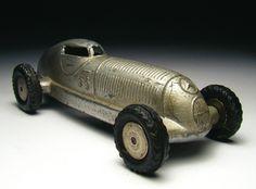 Stara zabawka - vintage car toy.