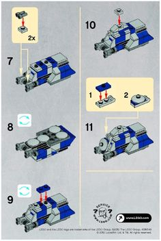 lego mini tie fighter instructions