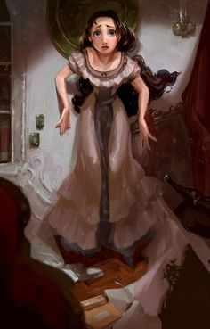 PHANTOM OF THE OPERA #6 PORTRAIT PAINTINGS Probably the very first two painting I did for the PotO project to see if I can capture the mood of the character with a painting. I originally looked into a lot of Mead Schaeffer's paintings as reference...
