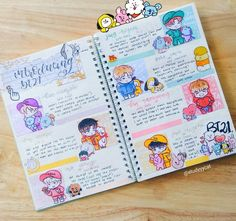 Easy Bullet Journal Ideas To Well Organize & Accelerate Your Ambitious Goals Bullet Journal Notes, Bullet Journal Aesthetic, Bullet Journal Writing, Book Journal, Journals, Journal Ideas, Bellet Journal, Kunsthistorisches Museum, Cute Scrapbooks