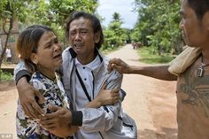 Burmese fisherman goes home after 22 years as a slave
