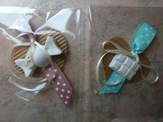 gessetti profumati - briciole di gioia- su cartoncino+nastro colorato