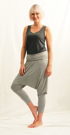 harem pants and vest Cape Town, Capsule Wardrobe, Knits, Harem Pants, Vest, Chic, Shopping, Clothes, Style