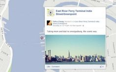Foursquare announced that it will be adding Foursquare check-ins to your Facebook Timeline map.