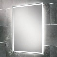 Hib warm white led showerlight white or chrome hib bathroom hib ella led back lit mirror 700 x available at cheap rate manufacturing code of this led back lit mirror is mozeypictures Gallery