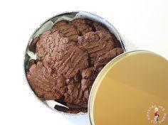Galletas de Chocolate con 4 Ingredientes