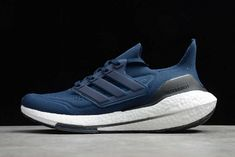 New Adidas Ultra Boost, Adidas Sneakers, Shoes Sneakers, Adidas Three Stripes, 21 Men, Navy Color, New Shoes, Ultraboost, Running Shoes