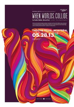 When Worlds Collide - Poster Design by Brand Nu