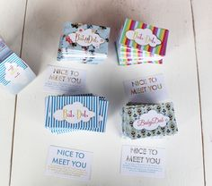 Picked up some new business cards today...tried out some variations of our logo...just couldn't decide which one we liked best, so....we got them ALL! I actually love all four! Woohoo  http://www.babydub.ie/