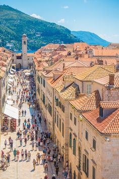Space Guide Best Things to SEE and DO in Dubrovnik, Croatia! - Below are some of the highlights of Dubrovnik that you'll definitely want to put on your must-see list. Places Around The World, The Places Youll Go, Places To See, Around The Worlds, Lisalla Montenegro, Places To Travel, Travel Destinations, Holiday Destinations, Croatia Travel Guide