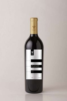 Piano Wine Packaging PD