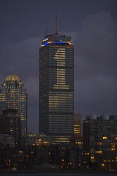 Prudential Tower - We are one. We are Boston Strong