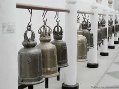 White Temple Bells in Chiang Mai www.thebarefootnomad.com