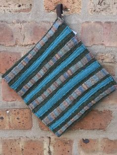 Trivet Hot Pad or Potholder for the table or wall  by FeltWerker