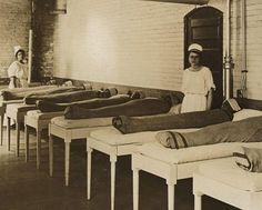 """Absolutely horrifying. Patients at a mental ward mummy-wrapped and strapped to beds to """"keep them calm"""". I would probably die of a fear induced heart attack within an hour"""