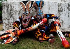 Amazing Thailand is celebrating Bun Luang and Phi Ta Khon Festival fom 10 July 2013 to 12 July James Bond Island Thailand, Asia Travel, Travel Tips, Thailand Tourism, Visit Thailand, Asian Art, Ghosts, Puppets, Places To Visit