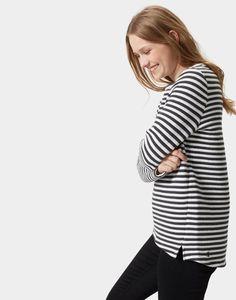 Joules Isla Women Textured Sweatshirt