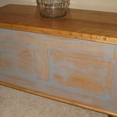 Blanket Chest - Maple - Cedar Lined by Tom Garbett