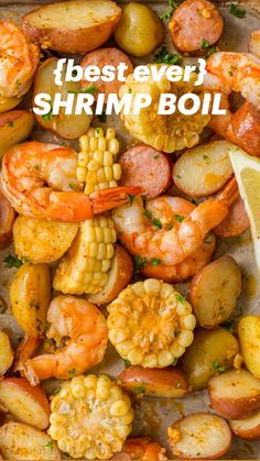Easy Shrimp Boil Recipe, Shrimp Recipes, Fish Recipes, Crockpot Recipes, Soup Recipes, Chicken Recipes, Recipies, Shrimp Dishes, Fish Dishes