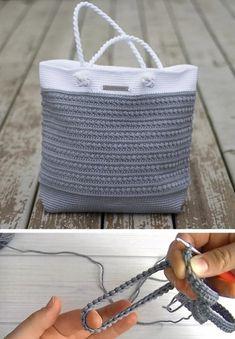 Pretty Shoulder Bag - Free Pattern