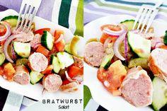 Bratwurstsalat
