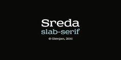 Fontfabric type foundry presents Sreda – slab serif free font!    Designed by Elena Kowalski, Ufa, Russia.