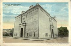 The Temple, located at the southwest corner of Claiborne and St. Francis Streets, was originally built as Mobile's Scottish Rite Cathedral in the 1920s