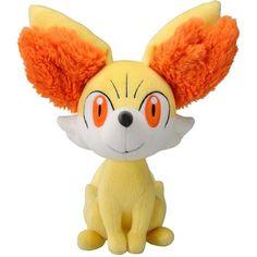 "Takaratomy New Pokemon N-03 X and Y Fennekin/Fokko 9"" Plush Doll ($11) ❤ liked on Polyvore featuring pokemon, plushies, filler, plush, stuffed animals, phrase, quotes, saying and text"