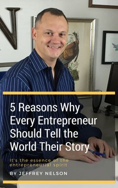 5 Reasons Why Every Entrepreneur Should Tell the World Their Story Creating A Business, Start Up Business, Starting A Business, Business Ideas, Story Of The World, Tell The World, Opportunity Cost, Writing Tips, Online Marketing