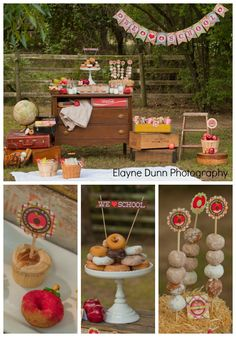 Apples and Donuts Back to School Party from MichaelsMakers Giggles Galore