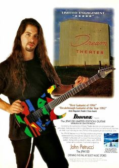 Guitar Magazine, Recording Studio Home, Dream Theater, Best Guitarist, Local Music, Great Ads, Poster Ads, Guitar Design, Ibanez