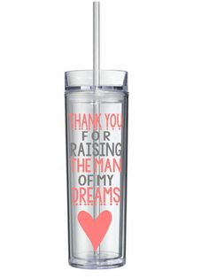 Thank You For Raising The Man Of My Dreams Mother of The Groom Acrylic Tumbler 16 Oz.Perfect gift for Mother of Groom, Mother, Mom, In-Law, on Etsy, $15.00