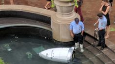 "#Robot ""#commits #suicide"" at mall..."