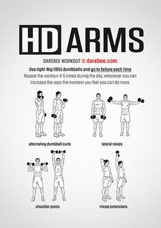 Tagged with motivation, fitness, workout; Shared by Simple Workouts to help you stay active Best Body Weight Exercises, Weight Training Workouts, Gym Workout Tips, Dumbbell Workout, Easy Workouts, At Home Workouts, Forearm Workout, Dumbbell Exercises, Kickboxing Workout